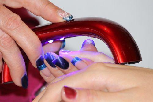manicure nail design dry unit