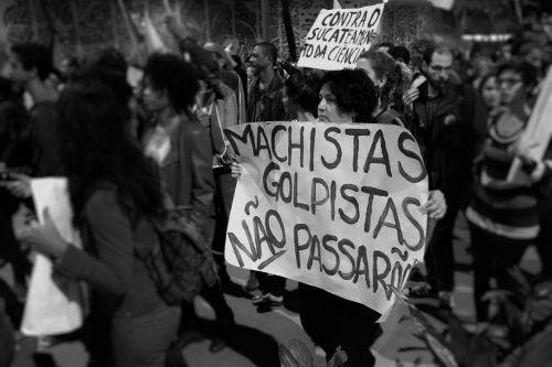 manifestation rio de janeiro impeachment