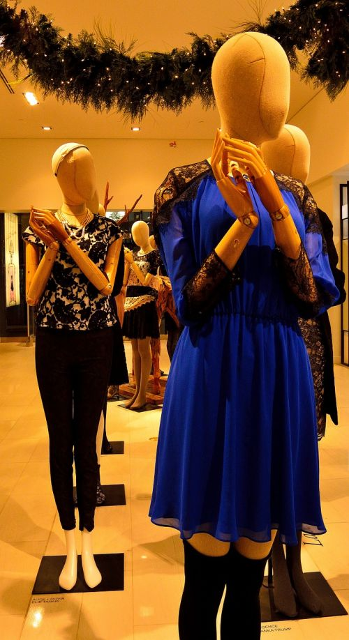 mannequin display clothes