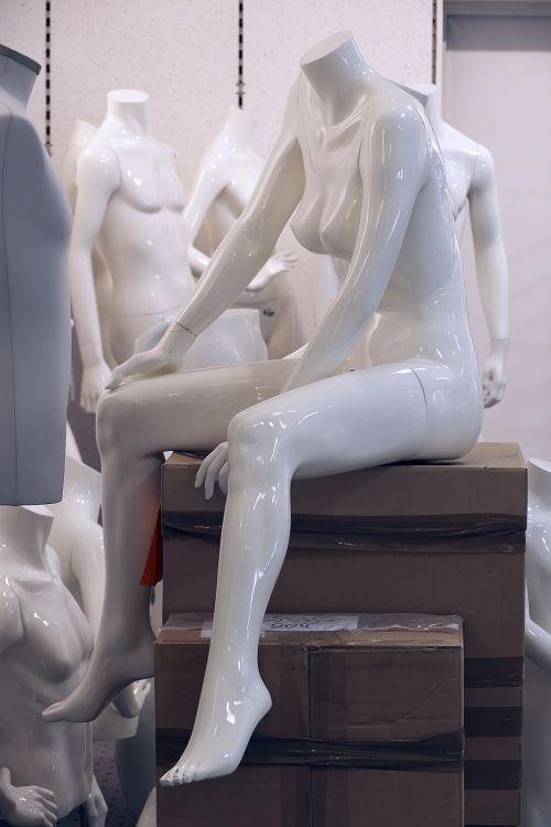 mannequin sitting display dummy