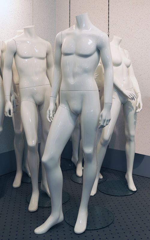 mannequin standing display dummy