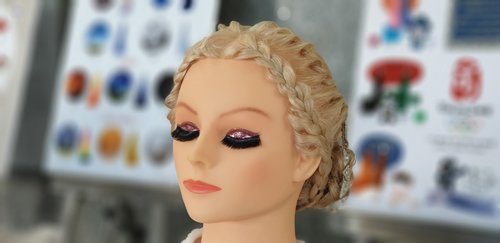 mannequin  hair  hairstyle