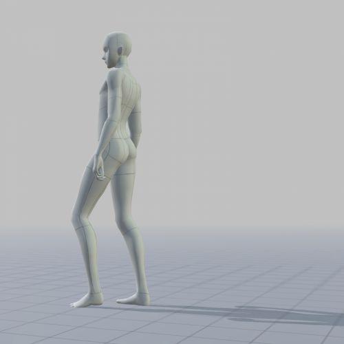Mannequin Standing