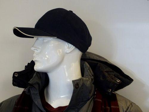 Mannequin Wearing A Baseball Cap