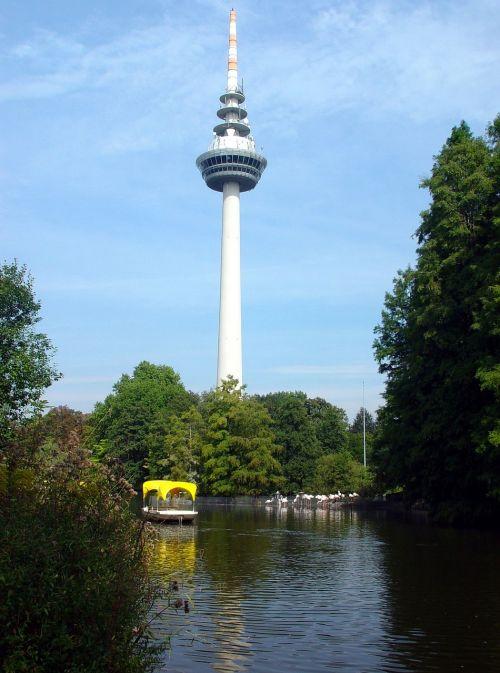 mannheim luisenpark tv tower