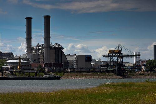 mannheim rhine industrieanlange