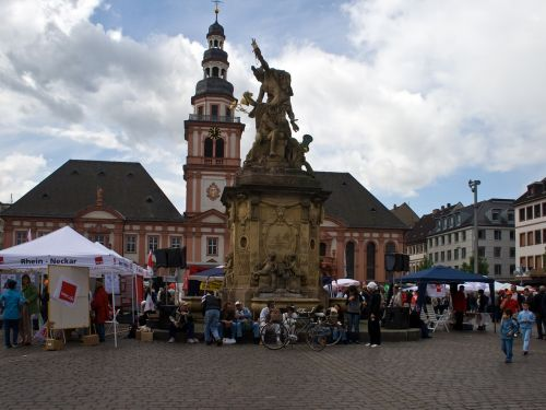 mannheim marketplace town hall