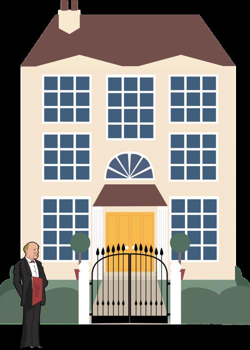mansion butler rich