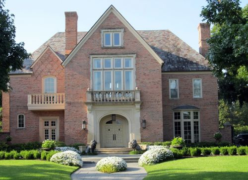 mansion house brickwork