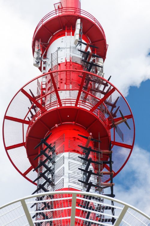 Many Antennas On A Tower