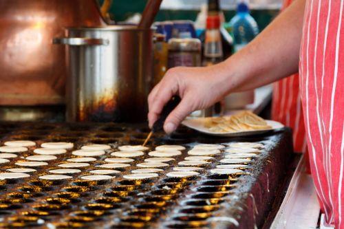 Many Mini Pancakes