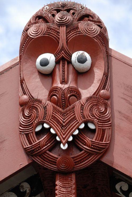 maori mask rotorua