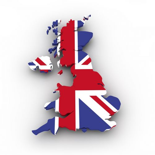map uk flag