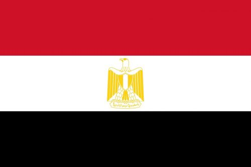 map egypt flag