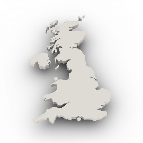 map united kingdom borders