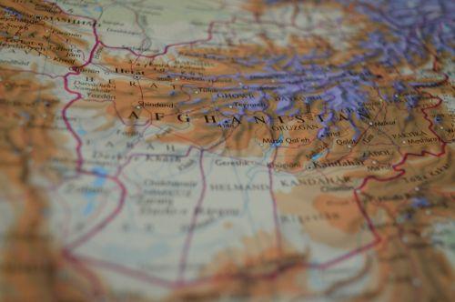 map afghanistan atlas
