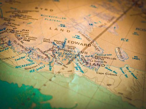 map navigation antarctica