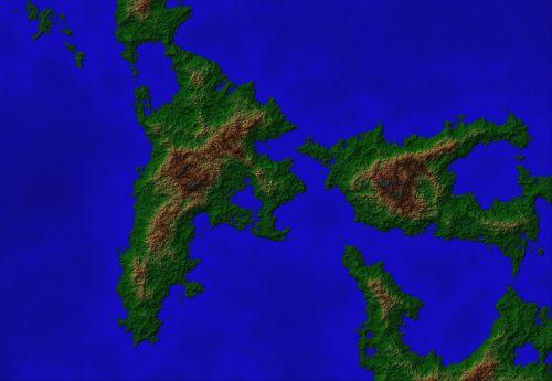 map fractal dig