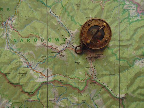 map compass travel