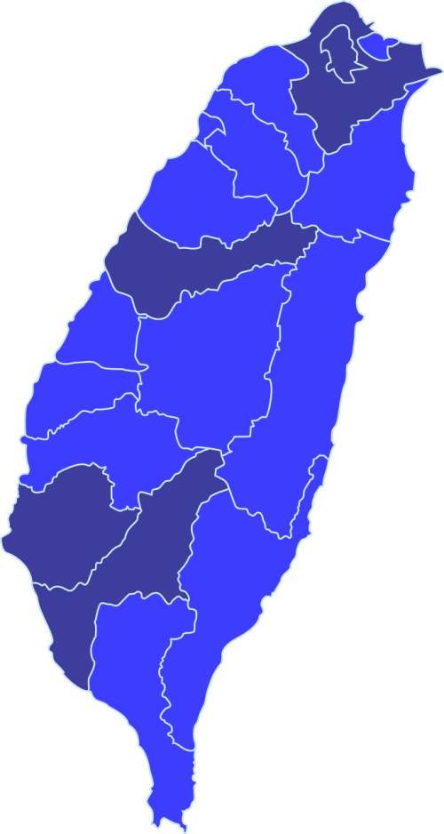map taiwan geography