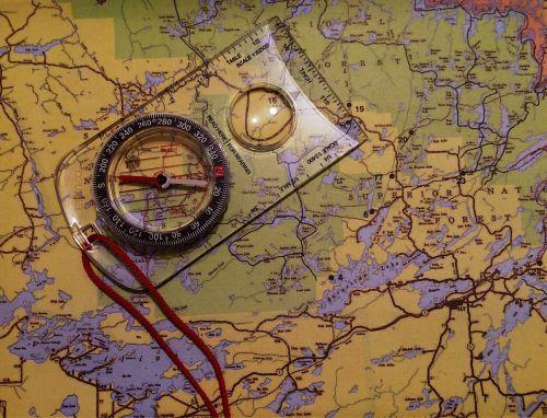map compass navigation