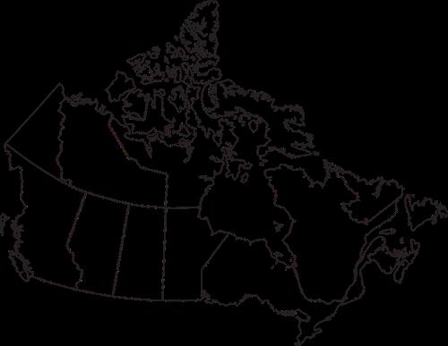 map canada provinces