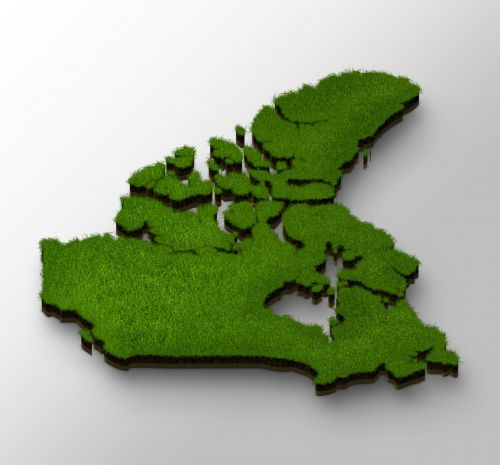 map canada geography