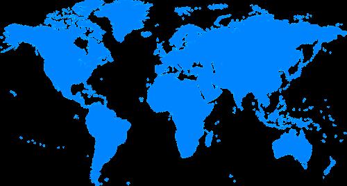 map world earth