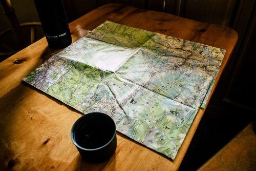 map paper tour