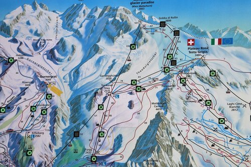 map  zermatt  the alps