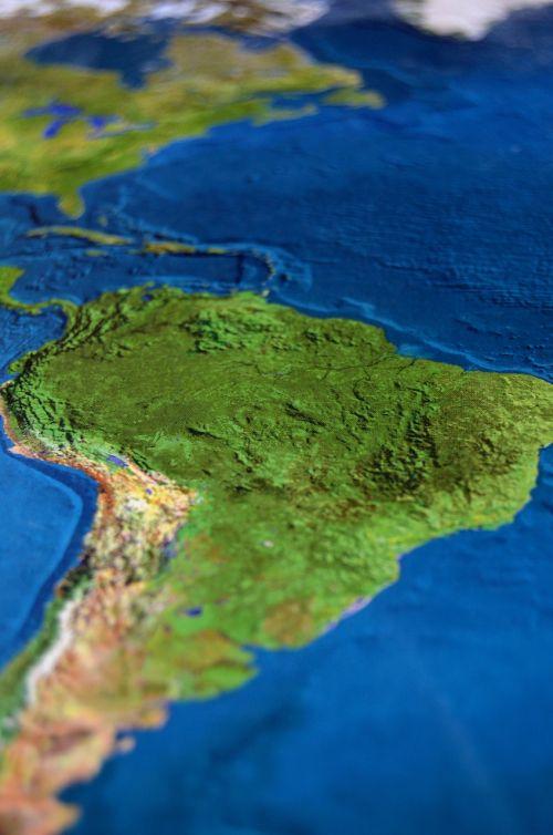 map south america atlas