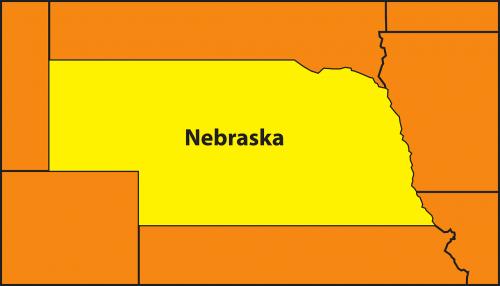 map state nebraska