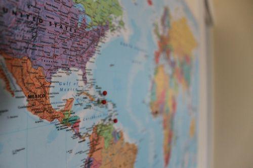 map world pin
