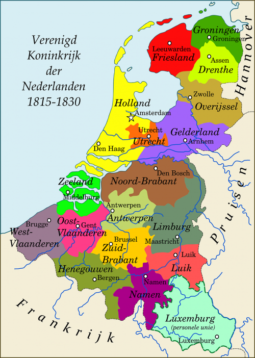 map netherlands kingdom