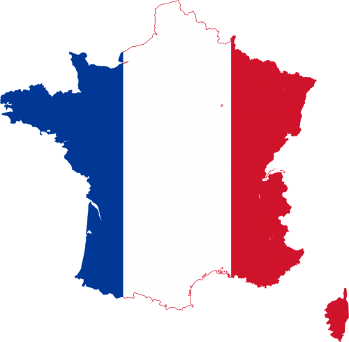 map of france french flag png