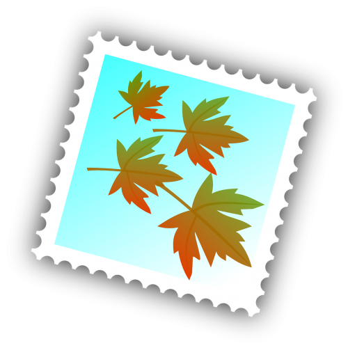 maple stamp postal