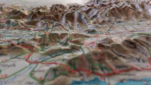 maps topographical maps geography