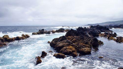 azores beira mar mar