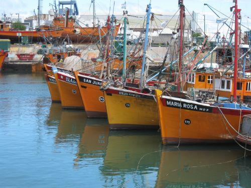 mar del plata argentina boats