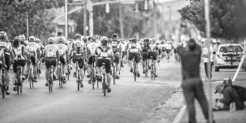 marathon bikers triathlon