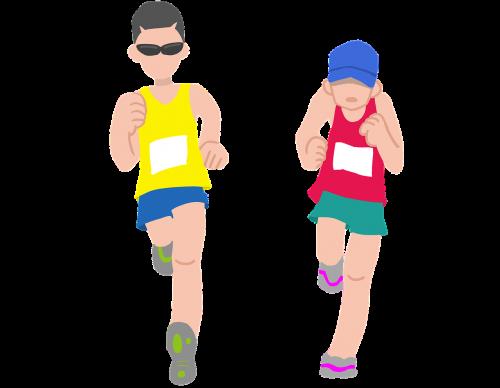 marathon marathon runner runner