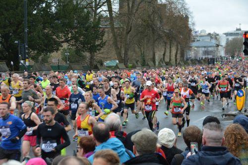 marathon running marathon runners