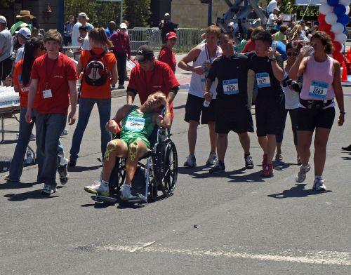 marathon race runner