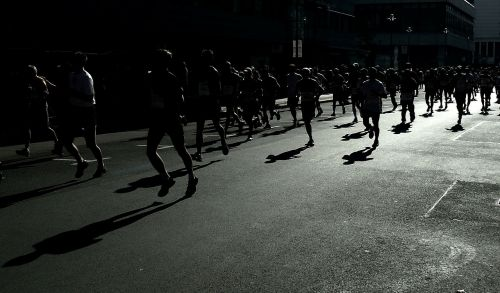 marathon sports race