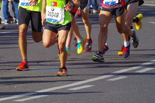 marathon  run  sport