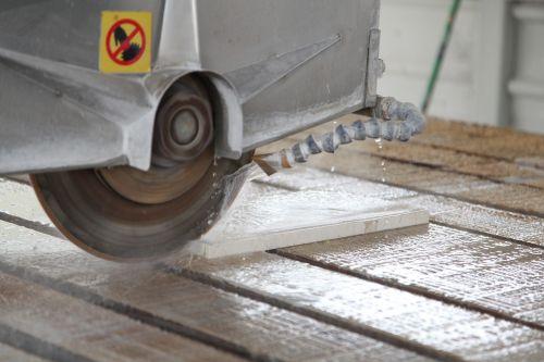marble granite cutting