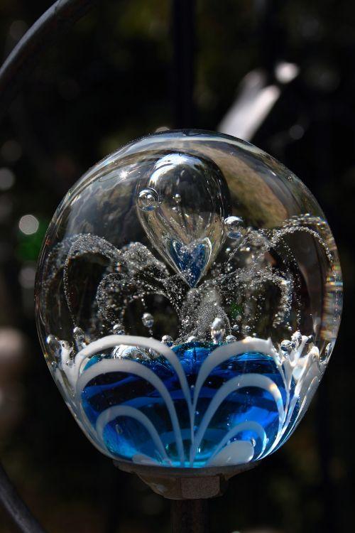 marmuras,stiklas,spalvinga,išėjęs į pensiją,gartendeko,stiklo rutulys,skaidrus,menas,deko