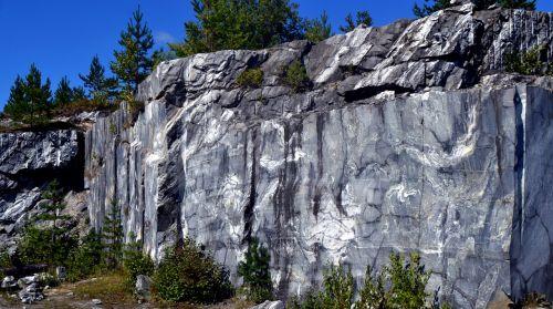 marble grey quarry