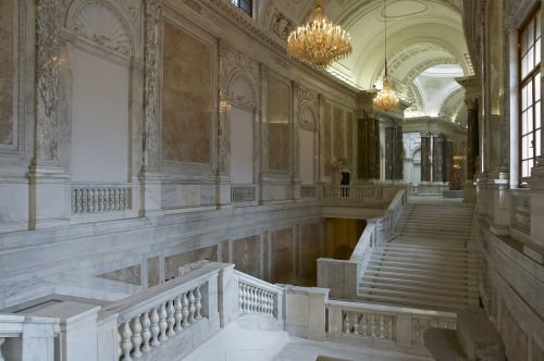marble new castle vienna