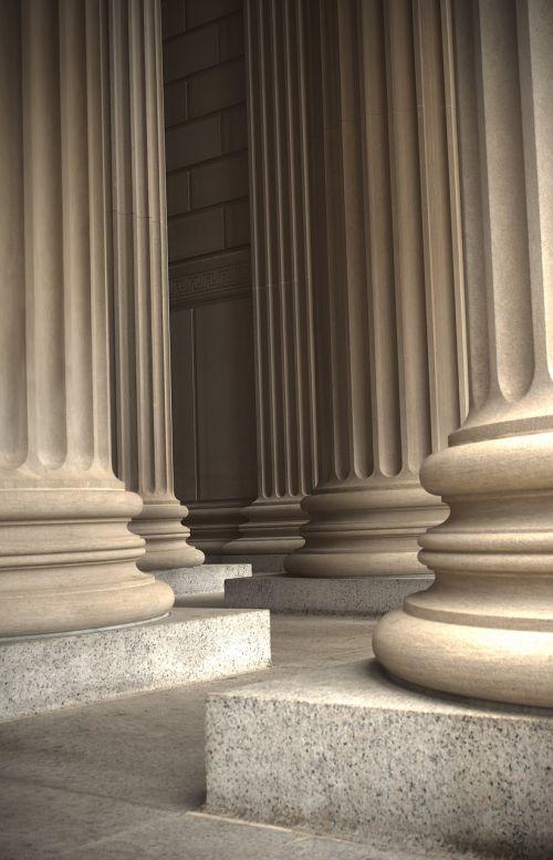 marble columns pillars